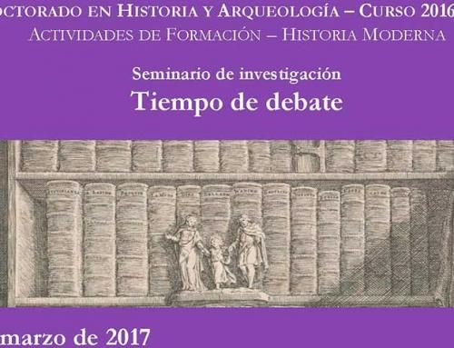 SEMINARIO DE INVESTIGACIÓN: Tiempo de debate