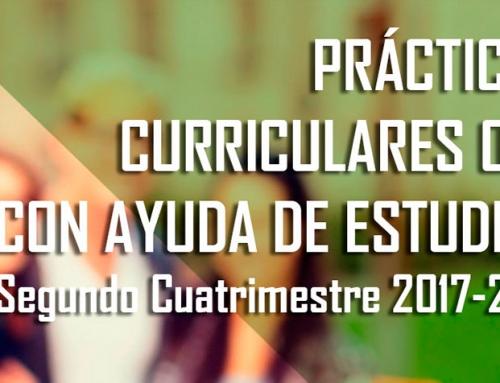 Prácticas curriculares con ayuda de estudios de la OPE-UAM