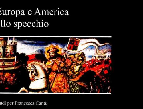 Nueva Publicación: Europa e America allo specchio