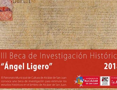 """III Beca de Investigación Histórica """"Ángel Ligero"""""""