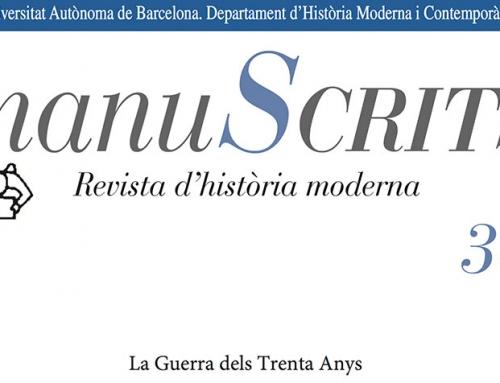 Nuevo número de Manuscrits: La Guerra de los Treinta Años
