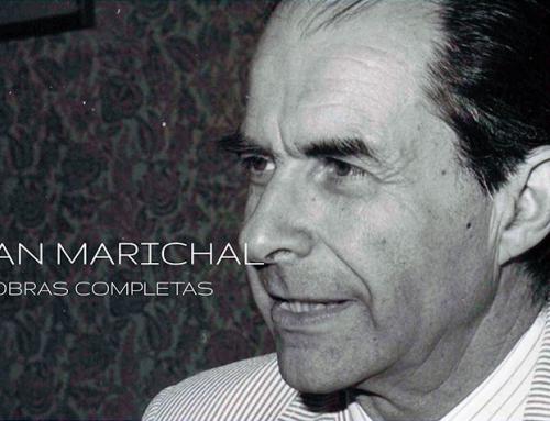 Ya está disponible la página web de Obras de Juan Marichal