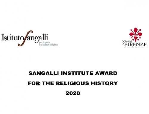 Call for Publications 2020: Sangalli Institute Award for the Religious History