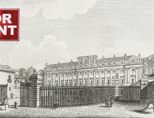 II Congreso Internacional: Palacios en alquiler: Patrimonio inmobiliario en el Madrid del siglo XVIII