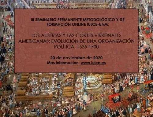 III Seminario Permanente Metodológico y de Formación ONLINE IULCE-UAM