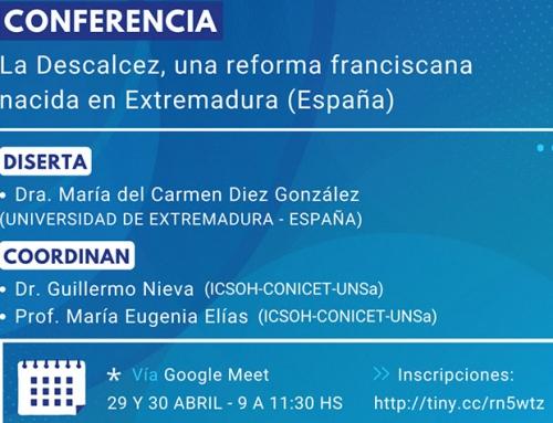 """Conferencia: """"La Descalcez, una reforma franciscana nacida en Extremadura (España)"""""""