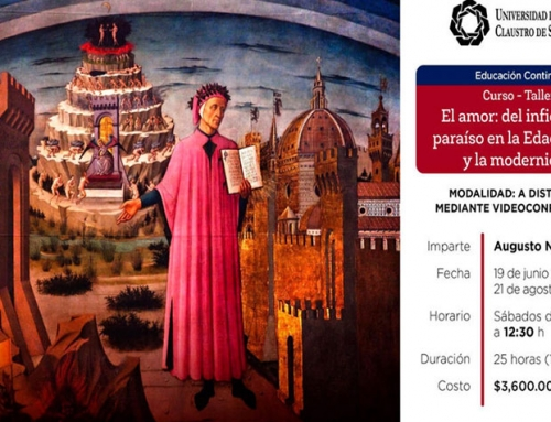 """Curso-taller: """"El amor: del infierno al paraíso en la Edad Media y en la modernidad"""""""