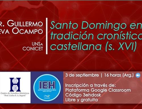Curso de actualización: Santo Domingo en la tradición cronística castellana (s. XVI)